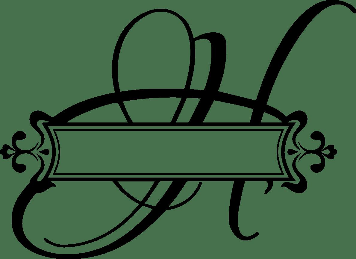 Download Split Letter H Monogram