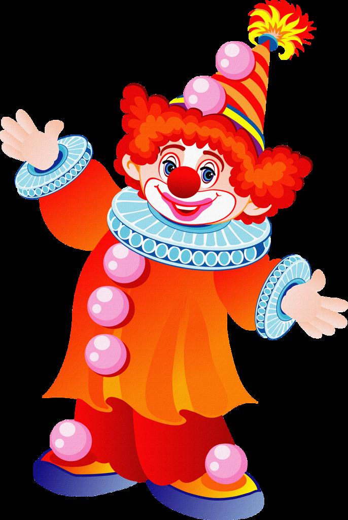 Download Hd Dessin De Clown En Couleur Transparent Png Image