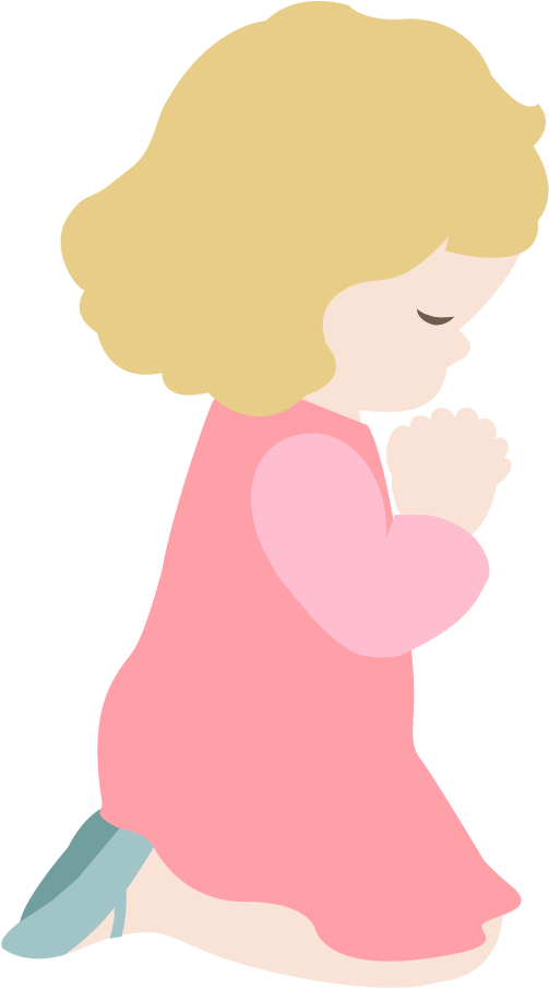 Download Hd Clipart Royalty Free Silhouette Child At Getdrawings Girl Praying Clip Art Transparent Png Image Nicepng Com