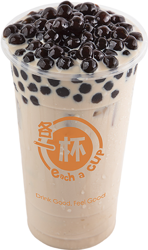 Download Hd Milk Tea Boba Png Vector Transparent Download Bubble Tea Each A Cup Transparent Png Image Nicepng Com