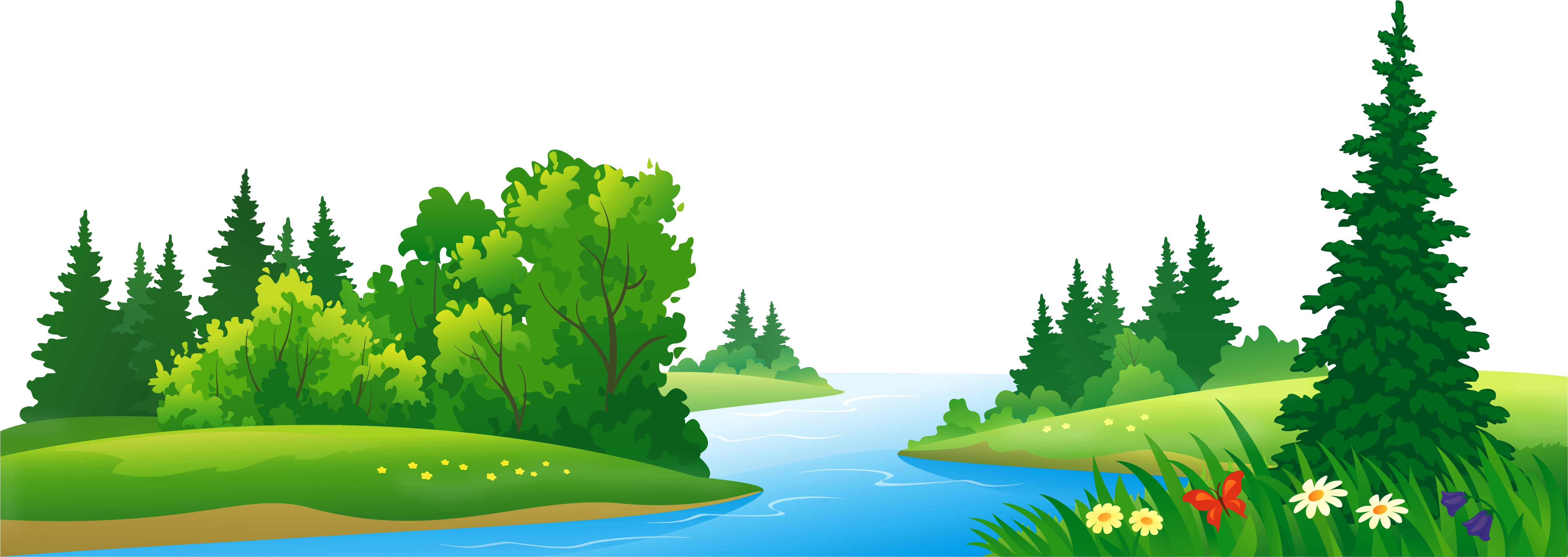 Download Hd Grass Lake And Trees Transparent Png Clipart Forest Clipart Png Transparent Png Image Nicepng Com Trees, tree branches and forest in png and psd format, green, summer, winter, in the snow, autumn, natural and graphics, living and dead trees and tree branches, downloa. download hd grass lake and trees