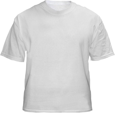 Download Hd Plain White T Shirt Template Back Of A Tee Shirt Transparent Png Image Nicepng Com