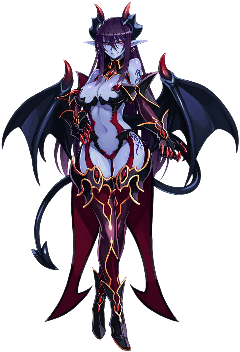 Download HD 14000965 - Anime Demon Lord Girl Transparent ...