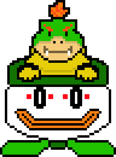 Download Hd Bowser Jr Bowser Jr Transparent Png Image
