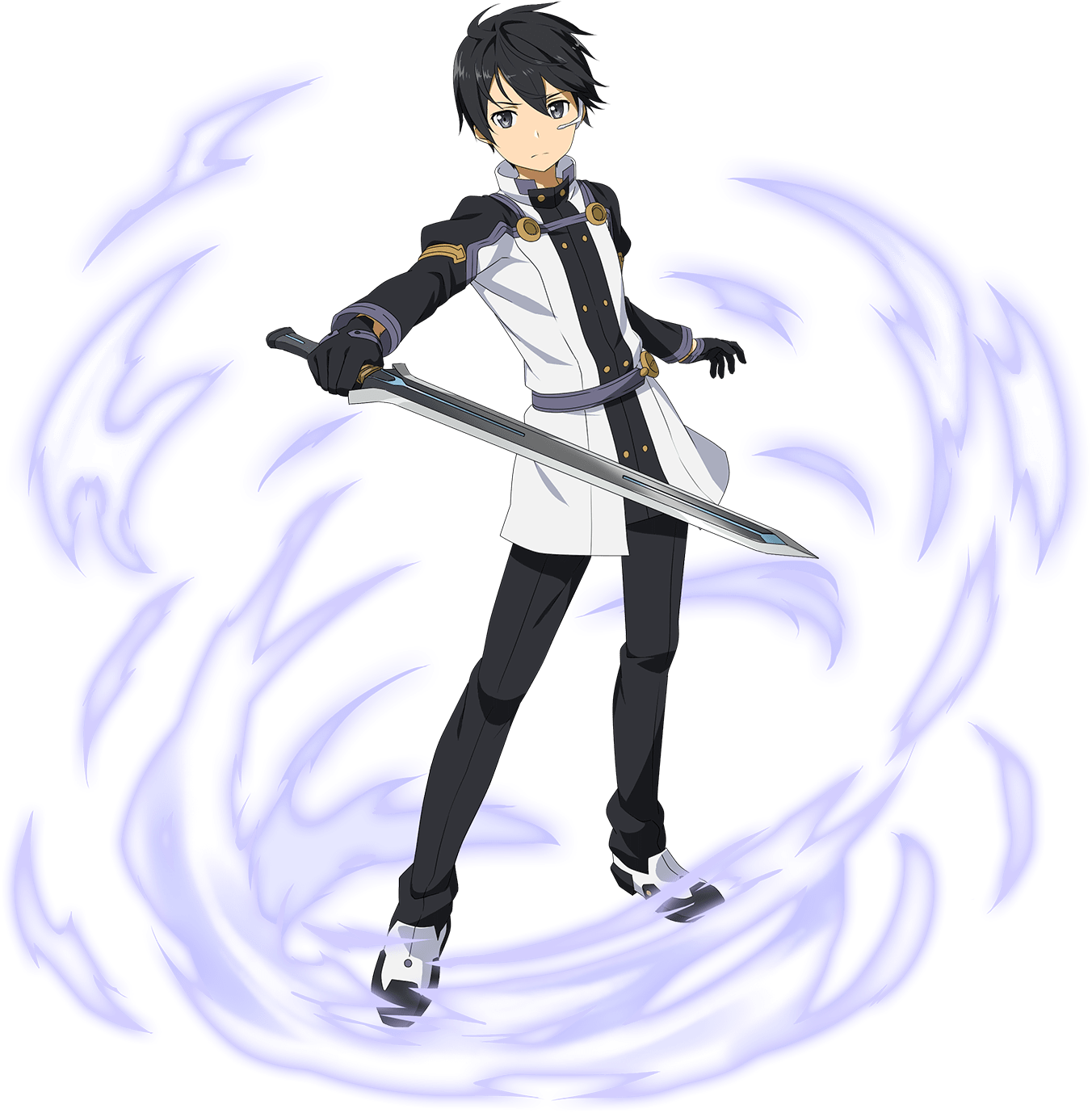 Download Hd Anime Boy With Black Hair Sword Art Online Ordinal