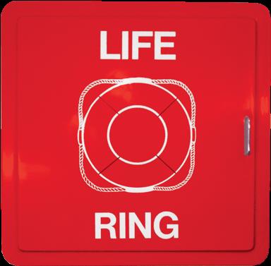 Download HD Lrc1 Fiberglass Life Ring Cabinet   Life Ring ...