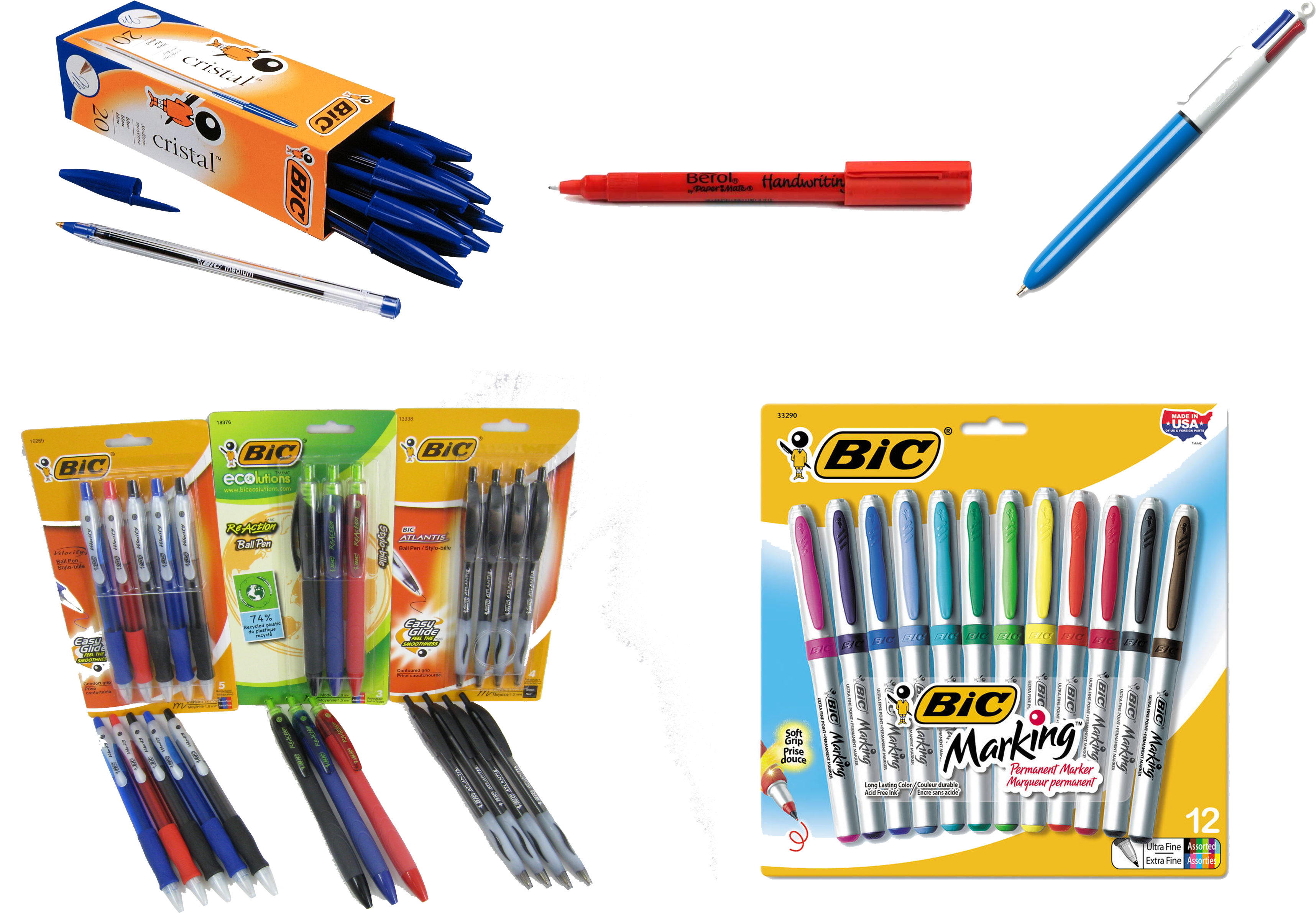 Download Hd Bic Page Bic Marking Permanent Marker Ultra