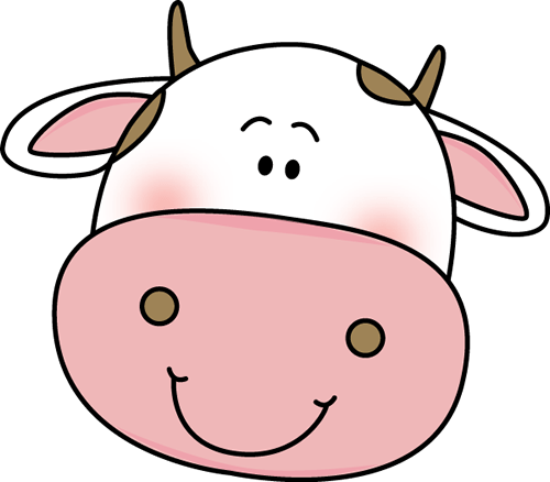 Download HD Cow Head - Cow Face Coloring Pages Transparent