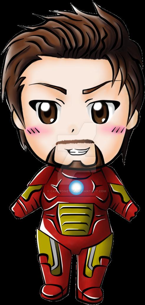 Download Hd Babies Clipart Ironman Tony Stark Iron Man Chibi