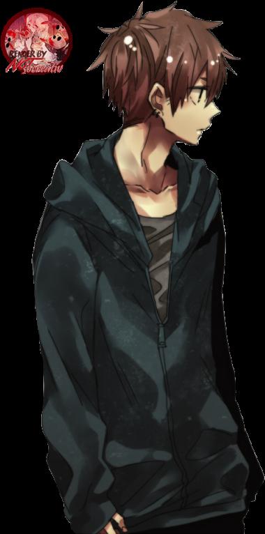 Download Hd Anime Boy Free Transparent Png Png Images Anime Boys With Brown Hair Transparent Png Image Nicepng Com