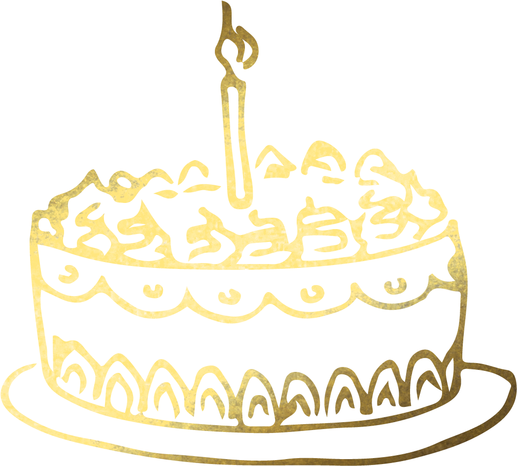Remarkable Download Hd Birthday Cake Png Gold Birthday Cake Png Transparent Personalised Birthday Cards Bromeletsinfo
