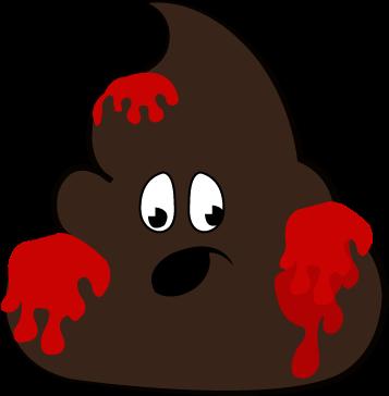 Download HD Bloody Poop, Blood In Poop, Blood Clots In Stool