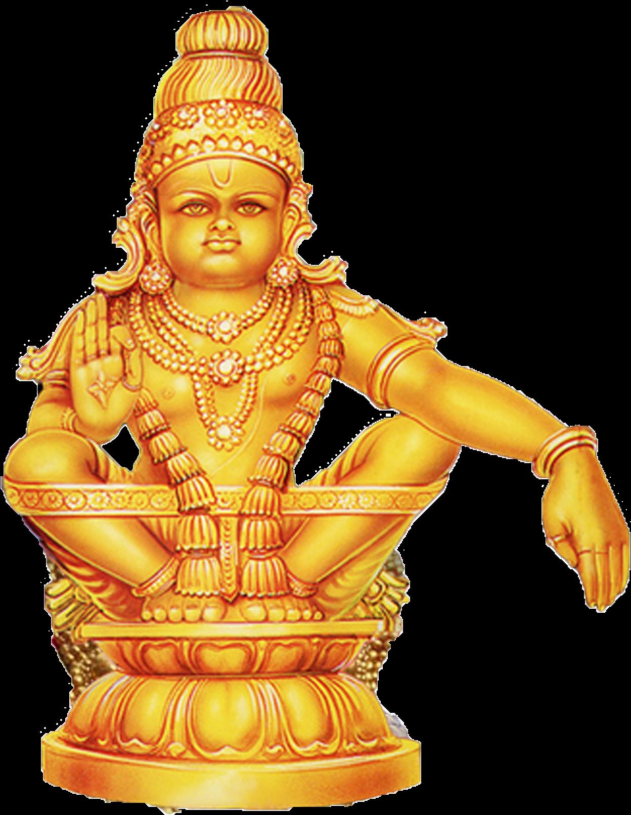 Download HD God Vector Ayyappa Swamy - Akhila Bharatha