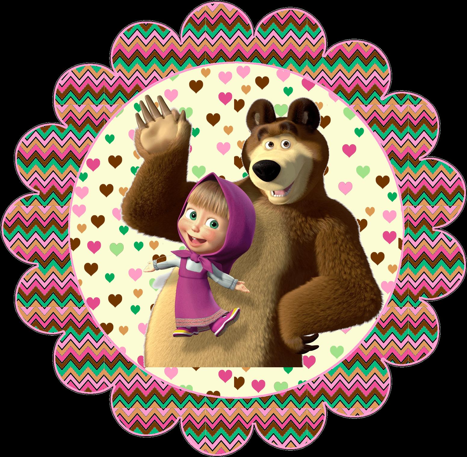 A masha e o urso