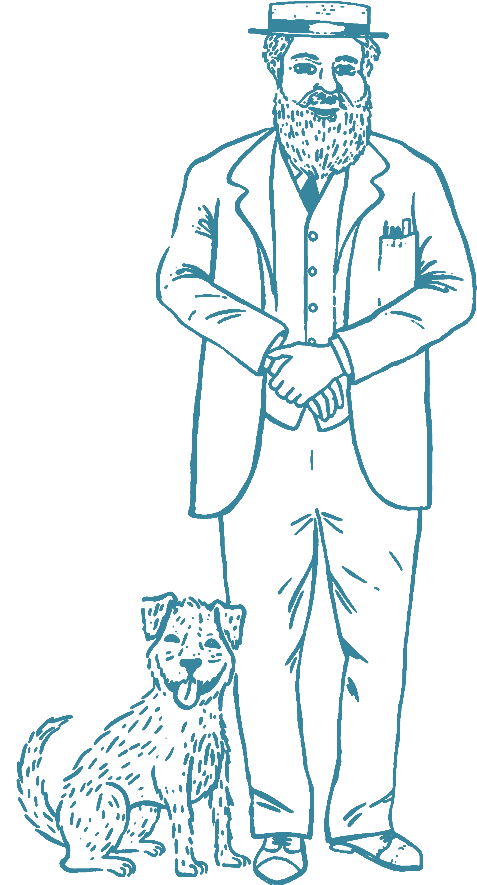 Download Hd Charles Wicksteed And Jerry The Dog Sketch Transparent Png Image Nicepng Com