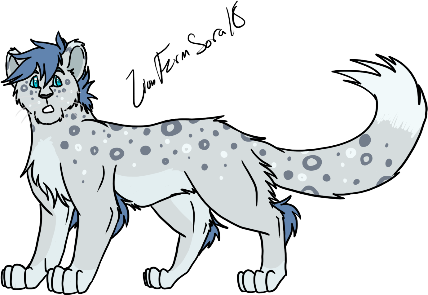 Download Hd Design Trade W Call Of The Wild Snow Leopard Fan Art Transparent Png Image Nicepng Com