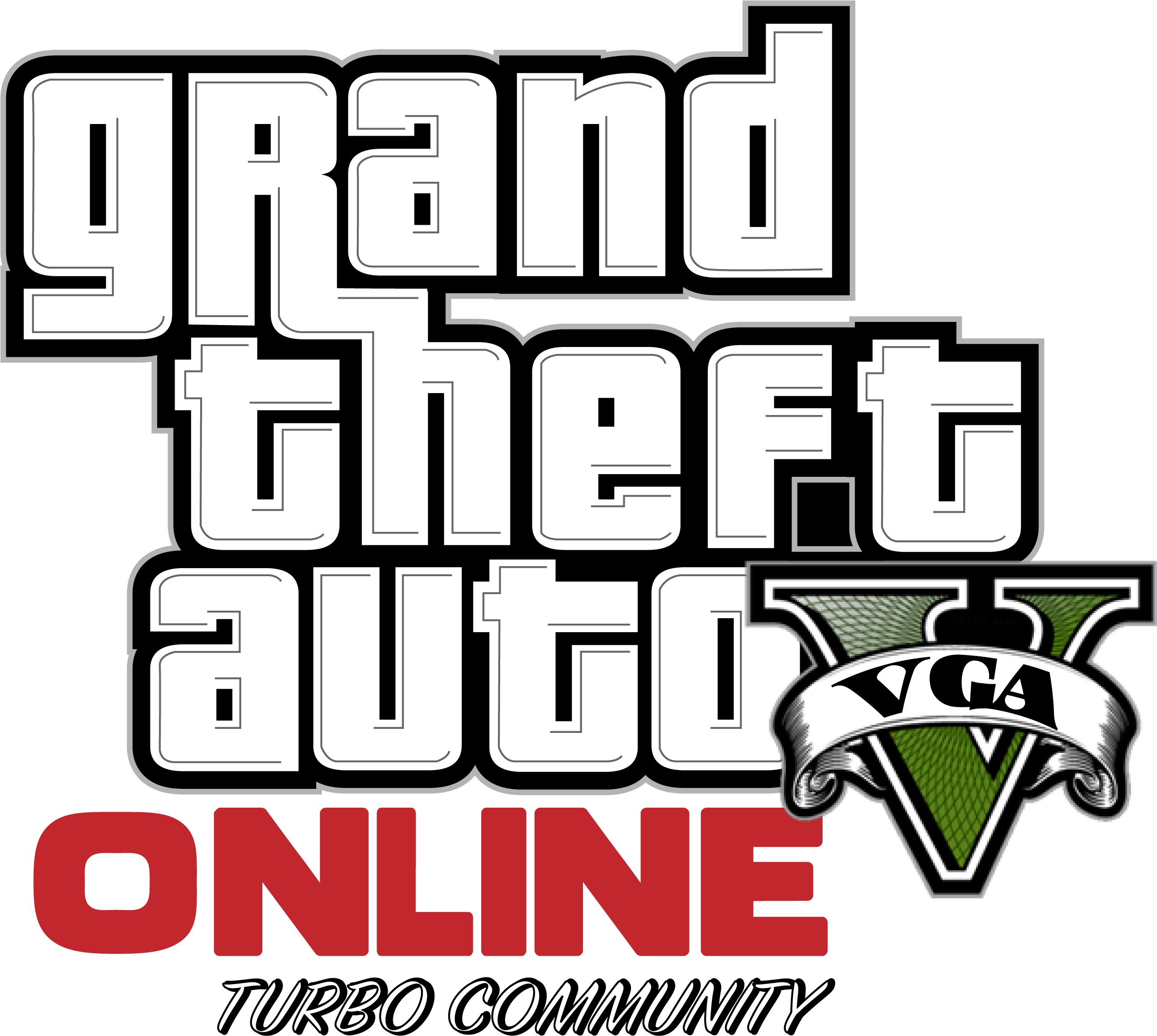 Download Hd Gta 5 Picture Grand Theft Auto V Online Logo