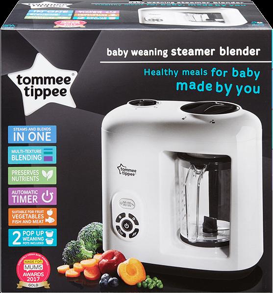 Download Hd Baby Food Steamer Blender Tommee Tippee