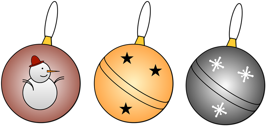 Download Hd Esferas De Navidad Para Colorear Esferas Navidenas