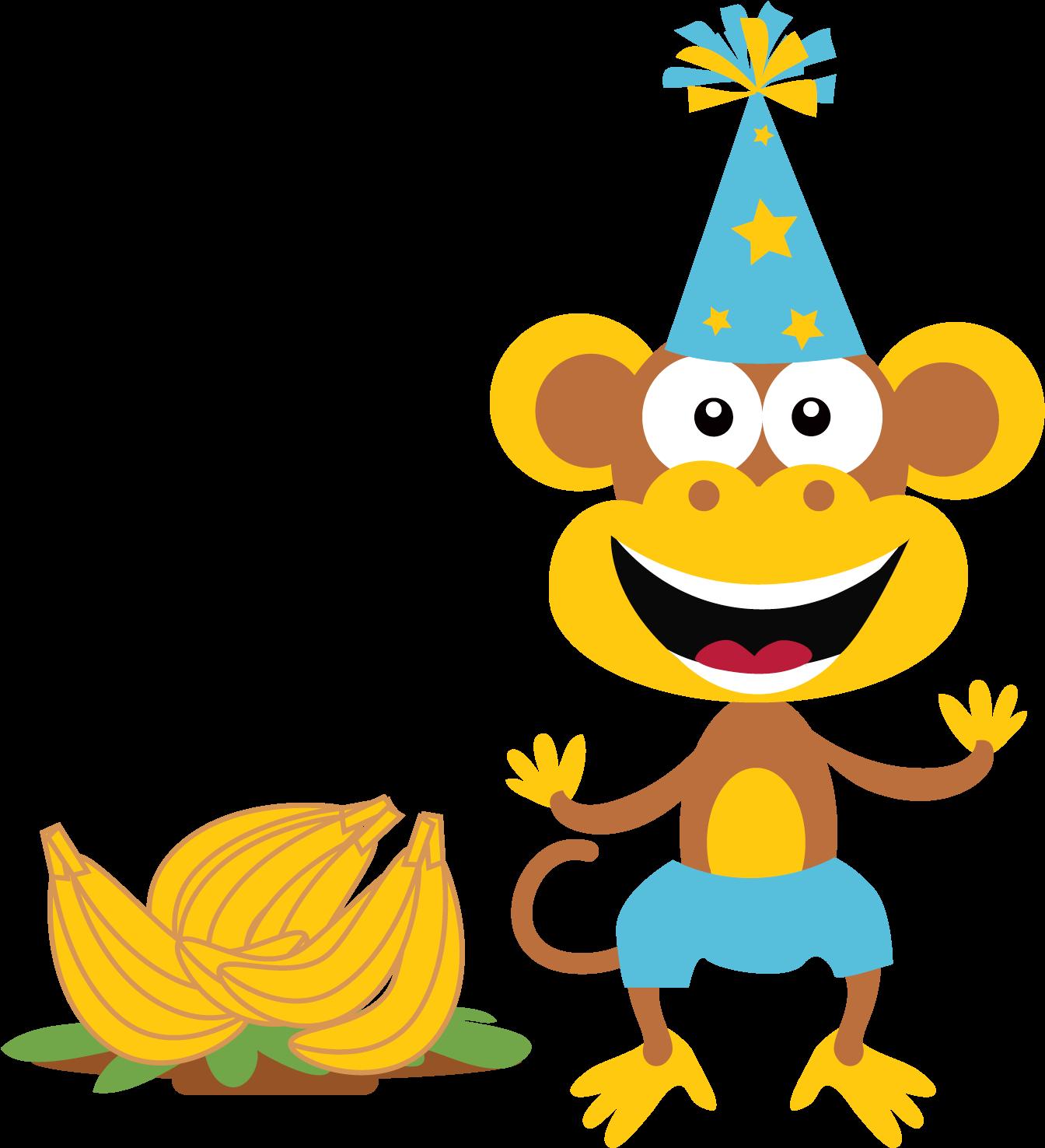 Download Hd Birthday Clipart Monkey Sun Summer Clip Art Free