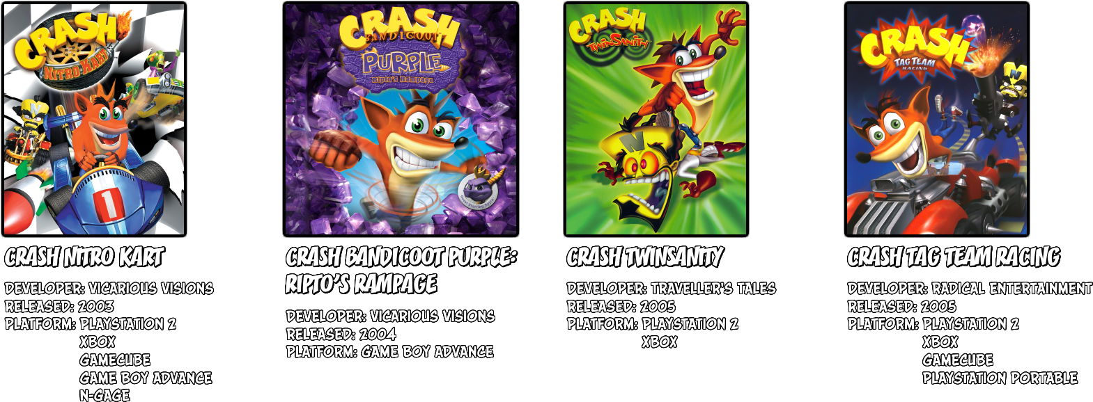 Download HD In Most Games, Crash Must Defeat Cortex And Foil