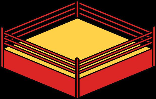 Download Ring Svg Wrestling - Wrestling Ring Clipart - HD ...
