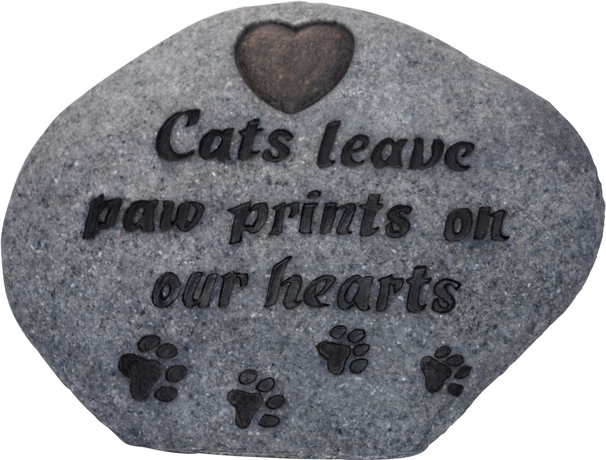 Download Hd Cat Paw Print Memorial Stone Grey By Vivid Arts Heart Transparent Png Image Nicepng Com Please wait while your url is generating. nicepng