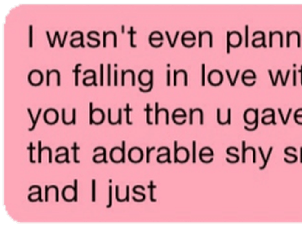 Download HD Pink Text Messages Tumblr Www - Carmine
