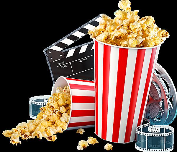 Download HD Cine - Popcorn Cinema Transparent PNG Image - NicePNG.com