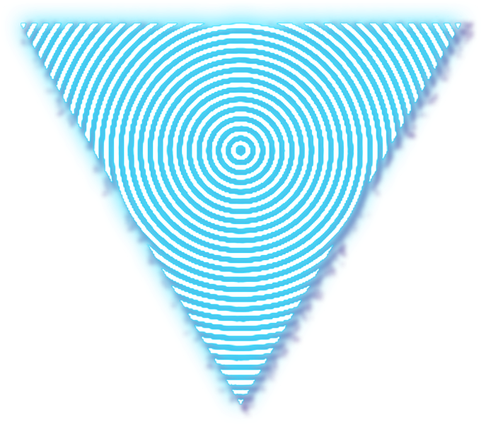 Download HD #triangle #circle #line #neon #lines #geometry