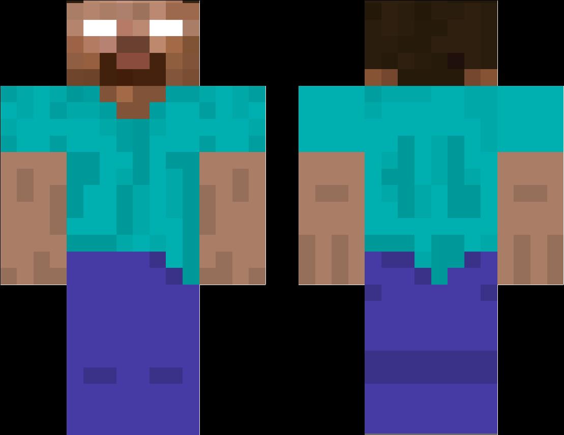 Херобрин / Скины для Майнкрафт / Minecraft PE Inside