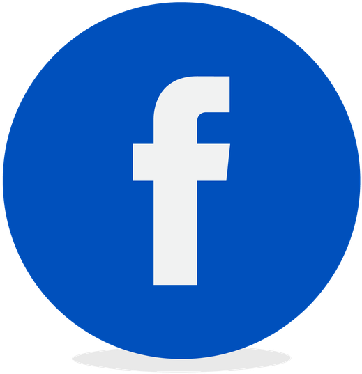 Facebook Icone - Facebook Twitter Icon Circle (768x695), Png Download