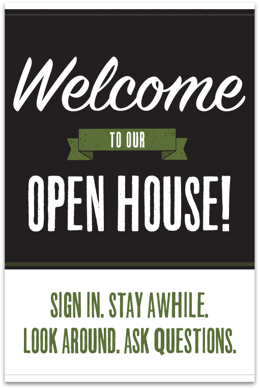 picture regarding Welcome to Our Open House Printable referred to as Down load High definition Do-it-yourself Visitor House Basket With Cost-free Printable Indication