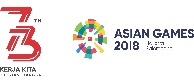 Download HD Logo Hut Ri Ke 73 Dan Asian Games Asian Games