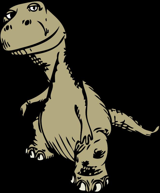 Download Hd Free T Rex Sketch Clip Art Transparent Png Image Nicepng Com