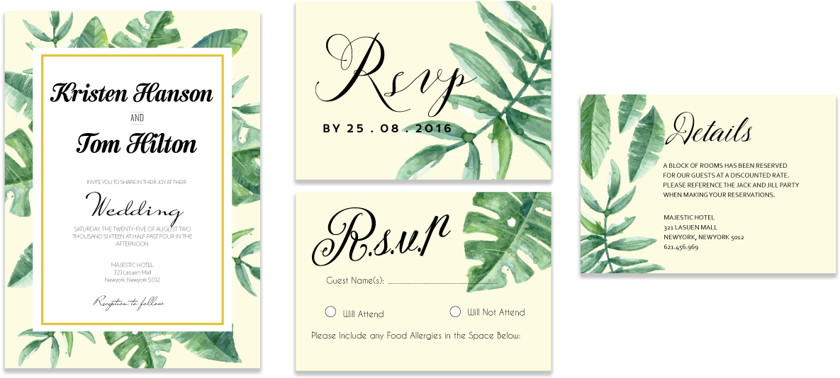 Download Hd Tropical Leaves Invitation Set Bar Soap Transparent Png Image Nicepng Com The design also has a white frame and lots of space to add images or text. nicepng