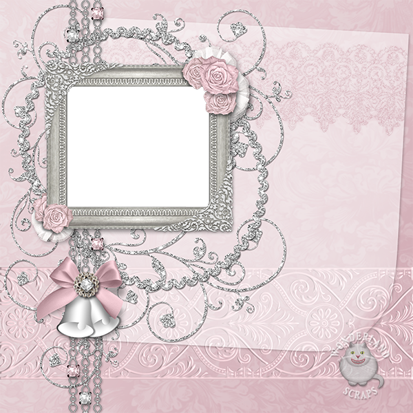 Download Hd Silver Wedding Frame Png Valentine S Day Transparent Png Image Nicepng Com