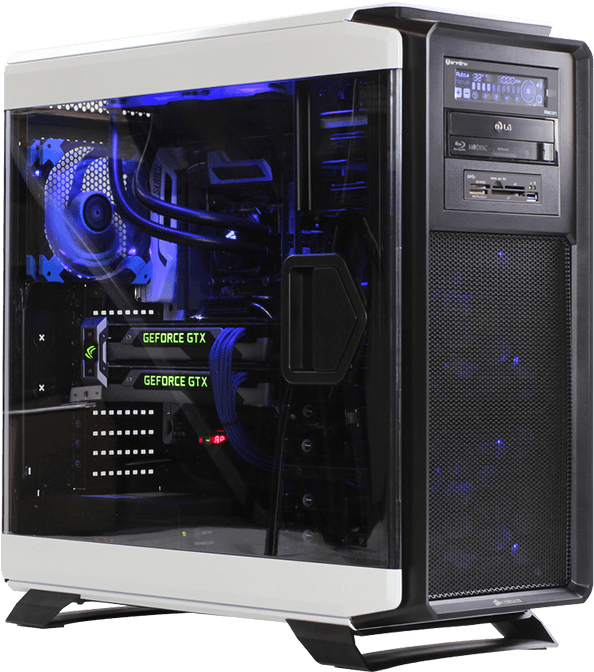 Download HD Liquid Cooled Cpu Gpu Single Loop X99 Custom