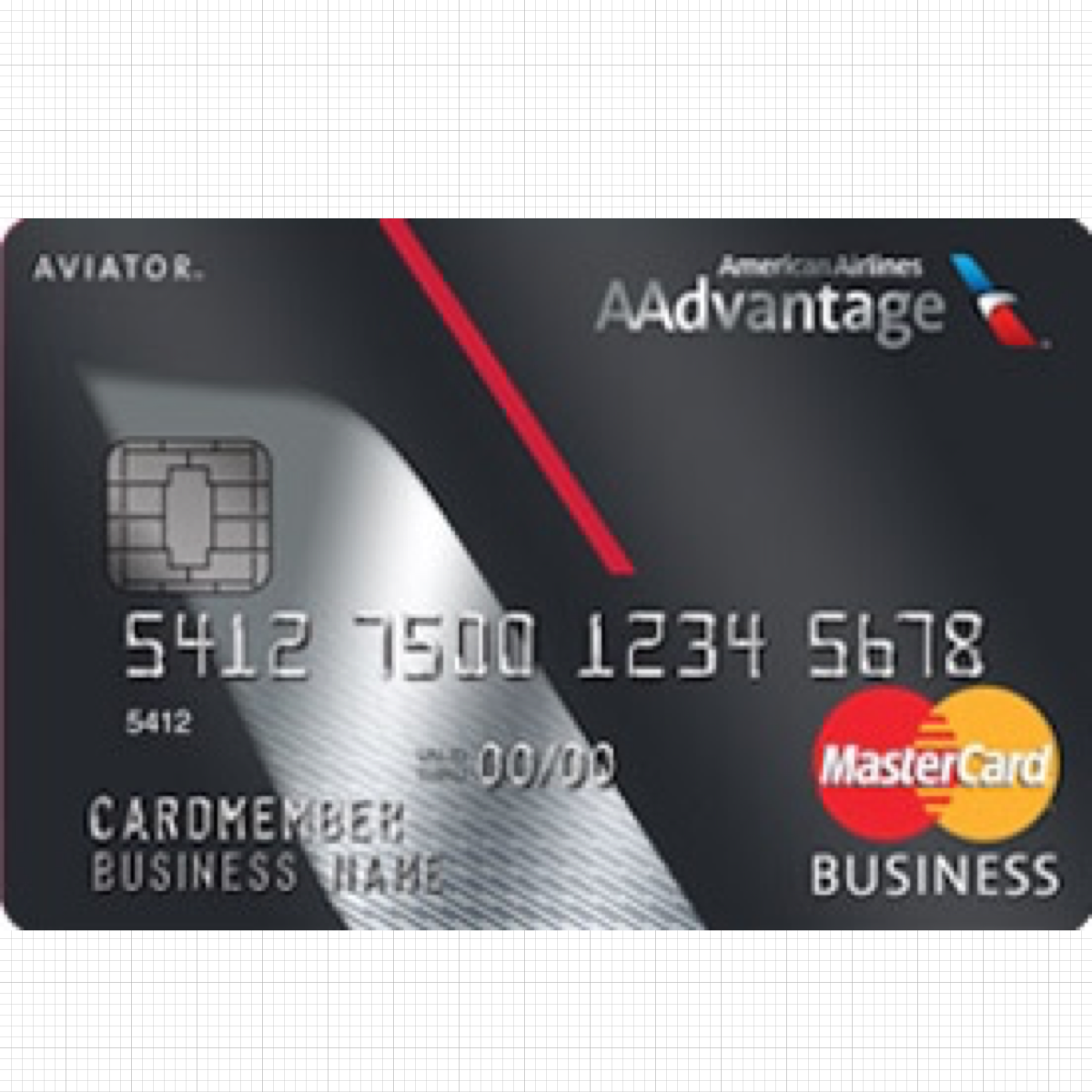 Download HD Aviator Business Card - Mastercard Transparent PNG